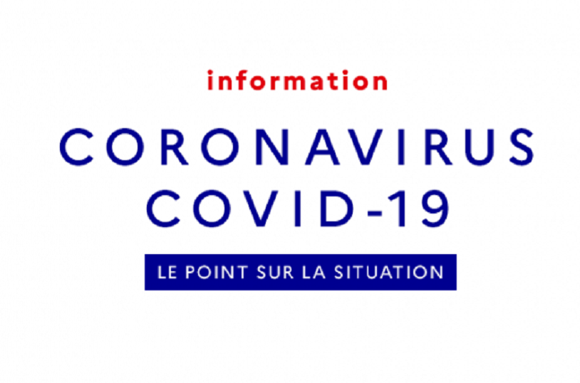 Informations COVID 19 – Coronavirus